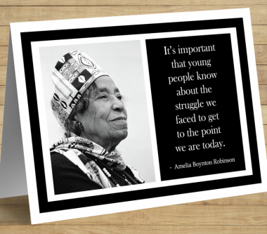 African American Inspirational Cards (R)