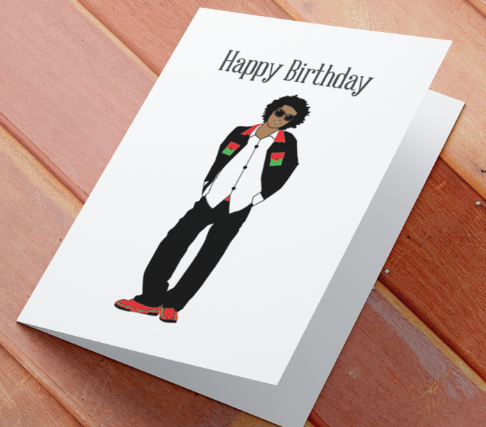 African American Boy Birthday Card C