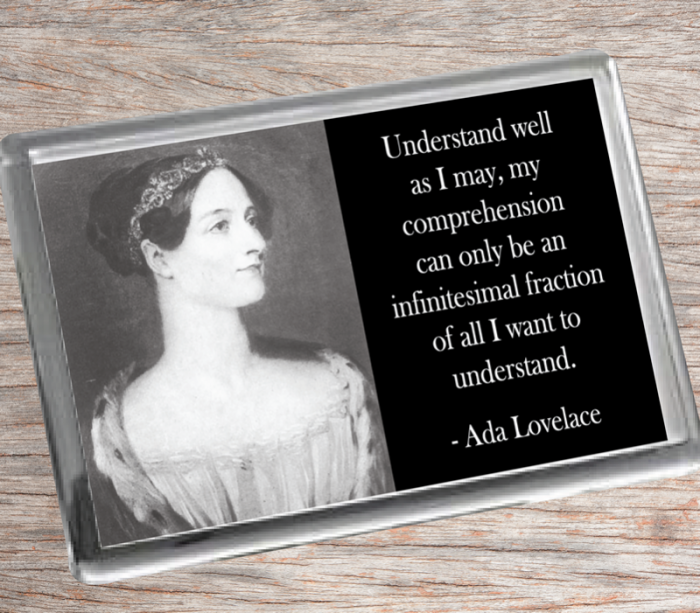 Ada Lovelace A Fridge Magnet