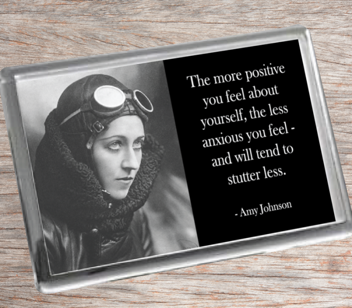 Amy Johnson Fridge Magnet
