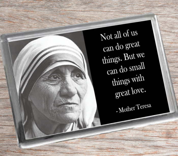 Mother Teresa Fridge Magnet