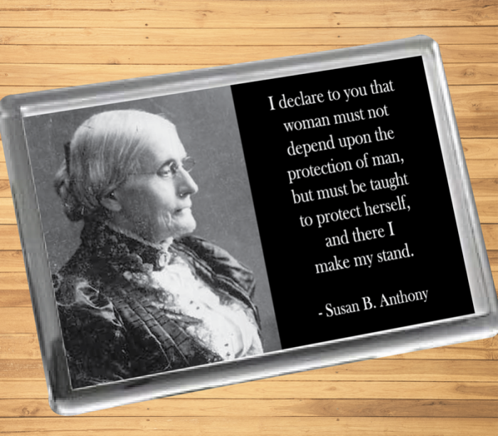 Susan B. Anthony Fridge Magnet