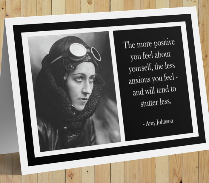 Amy Johnson Inspirational Card