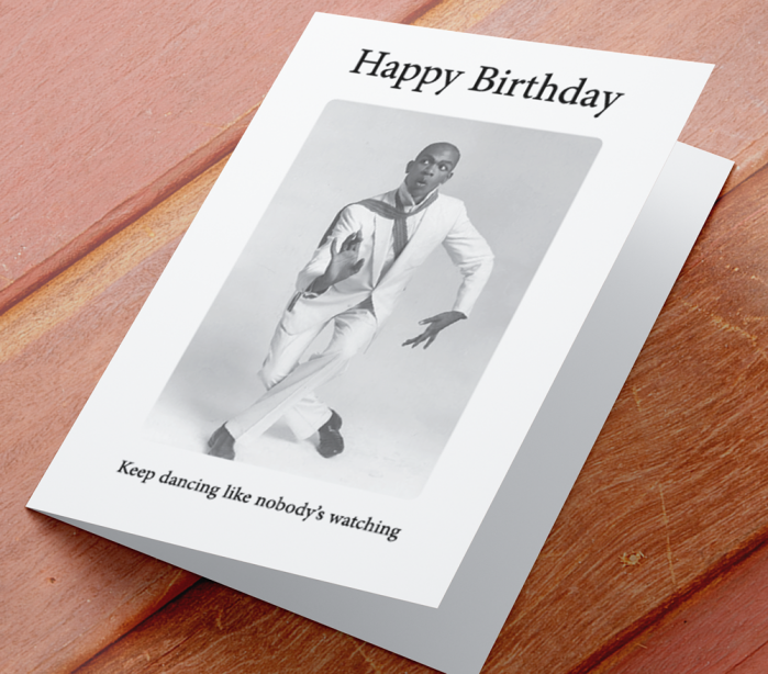 African American Male Birthday Card I