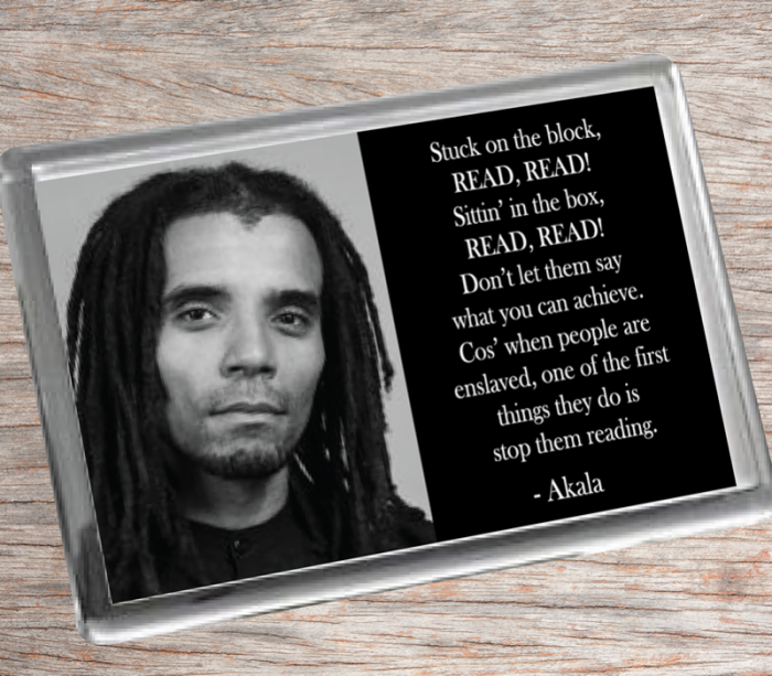 Akala Fridge Magnet