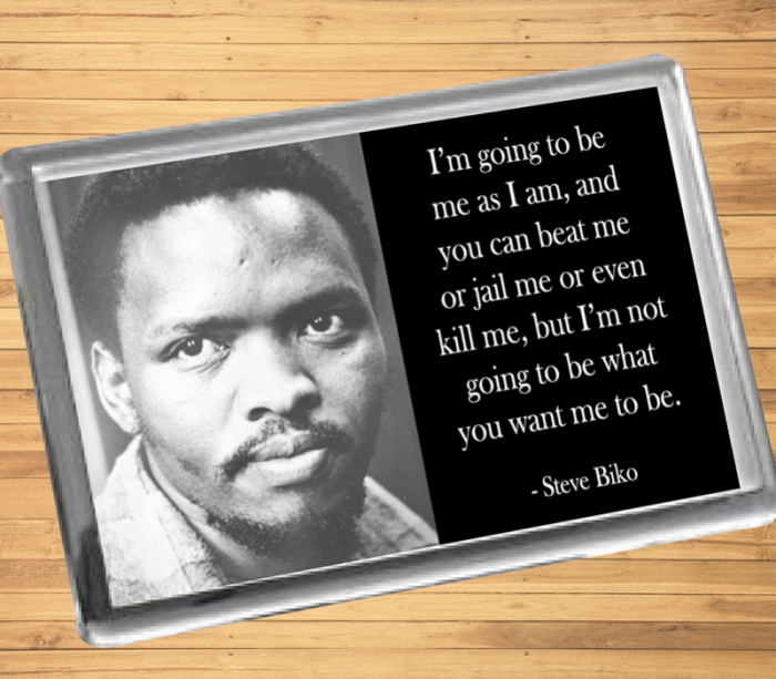 Steve Biko Fridge Magnet