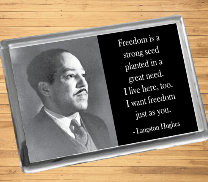 Langston Hughes Magnet