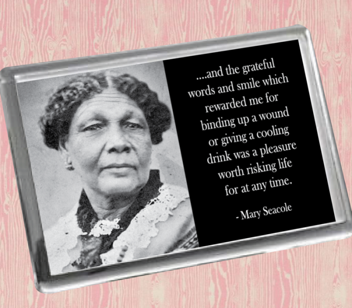 Mary Seacole Fridge Magnet