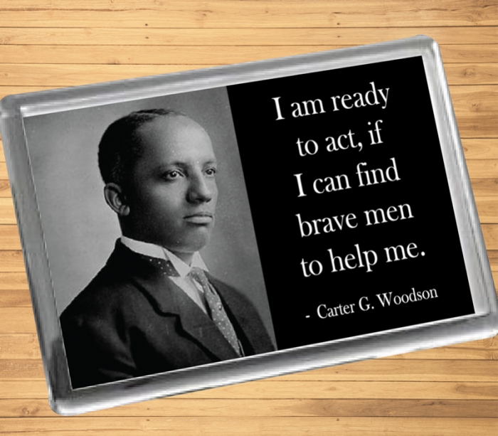 Carter G. Woodson Fridge Magnet