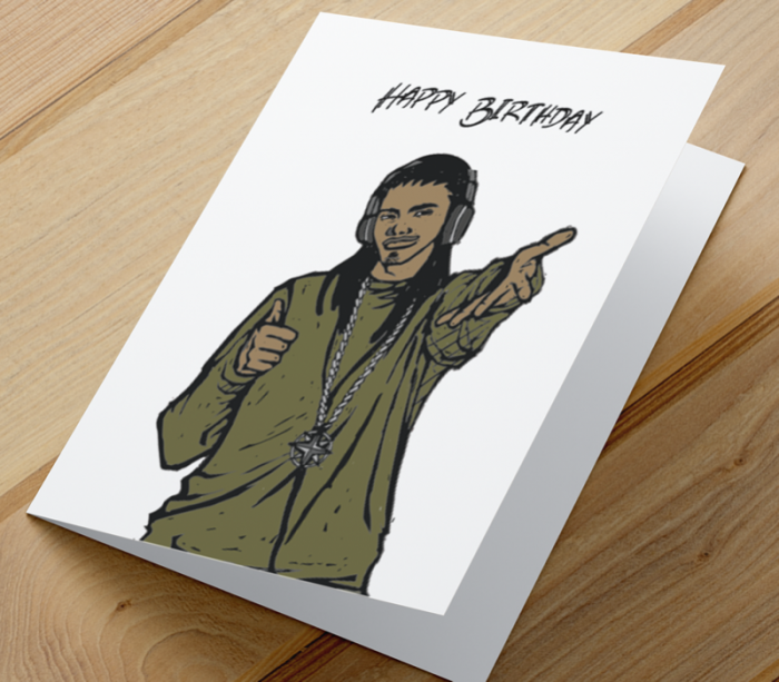African American Boy I Birthday Card