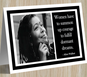 Alice Walker Card