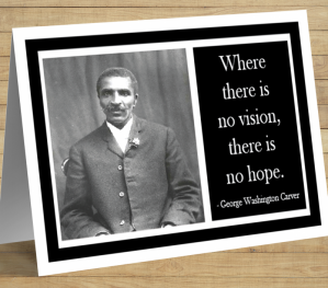 George Washington Carver Card