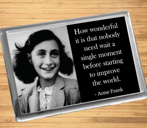 Anne Frank Fridge Magnet