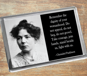 Christabel Pankhurst Fridge Magnet