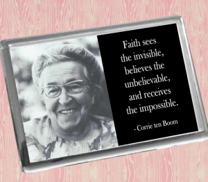 Corrie Ten Boom Fridge Magnet