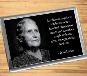 Doris Lessing Fridge Magnet