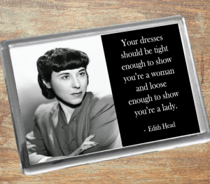 Edith Head Fridge Magnet