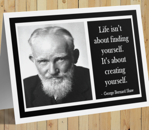 George Bernard Shaw Card