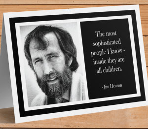 Jim Henson Card