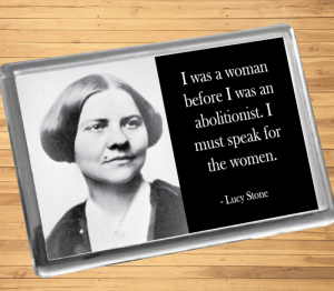 Lucy Stone Fridge Magnet