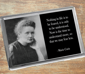 Marie Curie Fridge Magnet