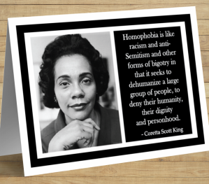Coretta Scott King Card