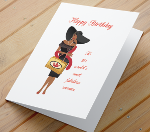 African American Female Birthday C