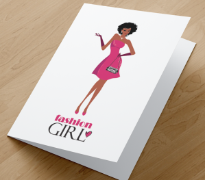 African American Fashion Girl 5