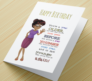 African American Female Birthday A