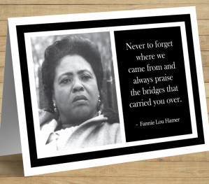 Fannie Lou Hamer Card