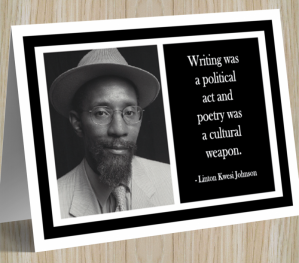 Linton Kwesi Johnson Card