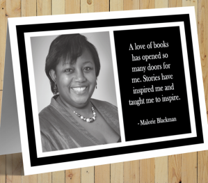 Malorie Blackman Card