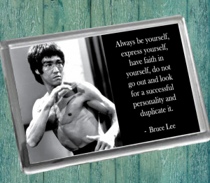 Bruce Lee Fridge Magnet