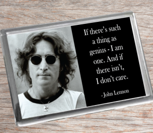 John Lennon Fridge Magnet