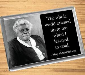 Mary McLeod Bethune Fridge Magnet