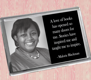 Malorie Blackman Fridge Magnet