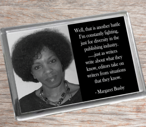 Margaret Busby Fridge Magnet