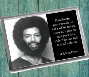Gil Scott-Heron Fridge Magnet