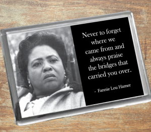 Fannie Lou Hamer Fridge Magnet