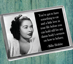 Billie Holiday B Fridge Magnet