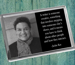 Jackie Kay Fridge Magnet