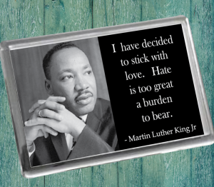 Martin Luther King Fridge Magnet