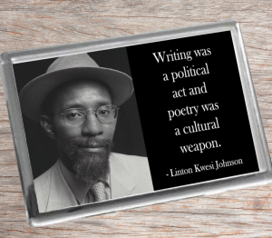 Linton Kwesi Johnson Fridge Magnet