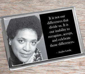 Audre Lorde Fridge Magnet