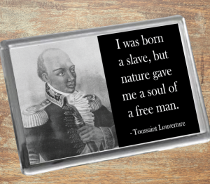 Toussaint Louverture Fridge Magnet