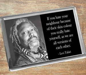 Levi Tafari Fridge Magnet