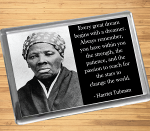 Harriet Tubman Fridge Magnet