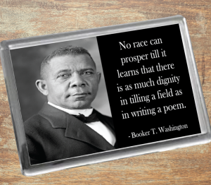 Booker T. Washington Fridge Magnet