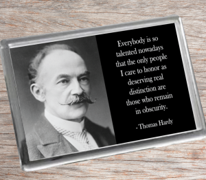 Thomas Hardy Fridge Magnet