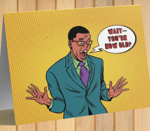 African American Man Birthday Card S